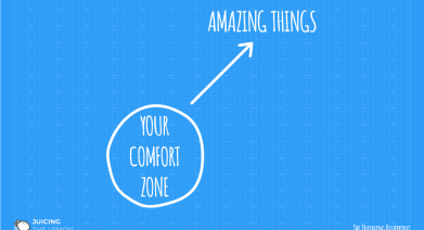 Stepping out of your comfort zone to make a difference