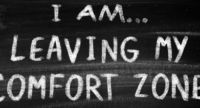 Exiting your comfort zone